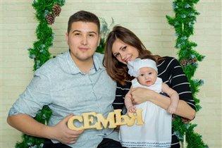 Мама, папа, я - счастливая семья! )