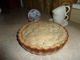 швабский пирог со смородиной