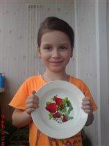 фото с тарелкой (подтверждение)