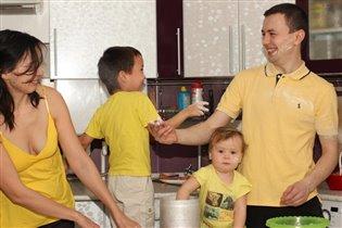 Вместе на кухне