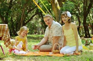 Семейный пикник :)