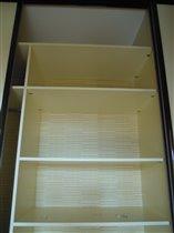шкаф в коридоре - полки