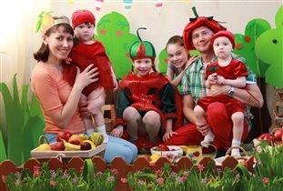 Наша большая творческая семья)