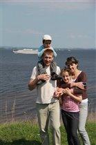 Наша семья на природе