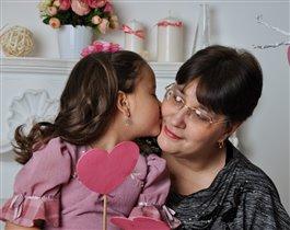 Наша дружная семья - моя мамочка и Я!