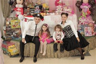 Принцессно-пиратская вечеринка