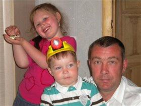 Мои любимые мужчины и лапочка дочка!