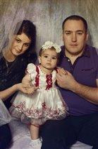 Любимый супруг и доченька Евочка!