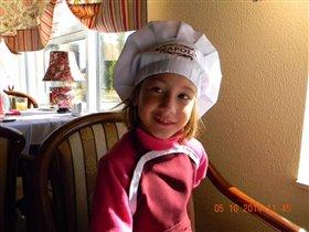 Хмелинина Ирина 7 лет, поваренок.