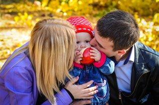 Самое большое счастье - дружная семья!