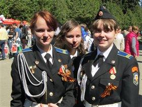 Три подружки-одноклассницы