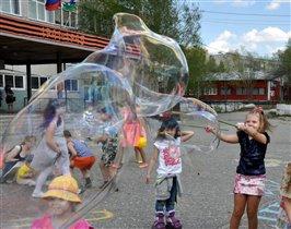 Мыльно-пузырёвое лето!!!