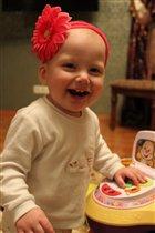 очаровательная улыбка дочки