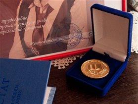 медаль зап 100 баллов на ЕГЭ по русскому языку