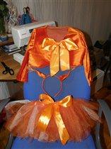 костюм белочки для нашей подружки