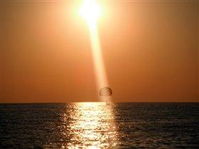 Закат на турецком побережье