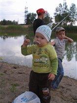 Доедай червей и пойдем домой!)))