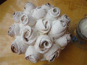 Пирог 'Букет роз'