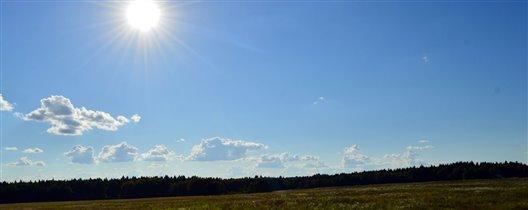 Солнечный денёк.