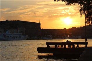 холодное солнце Стокгольма