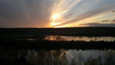 В Сибири солнце самое красивое