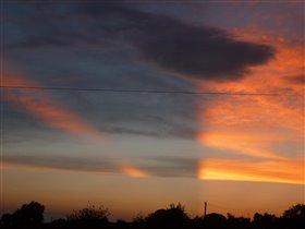 Необыкновенный закат!
