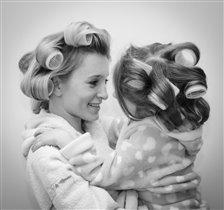 Красотки - моя жена и дочь