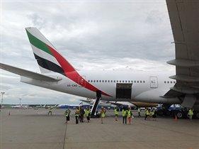 Emirates: максимальный уровень комфорта