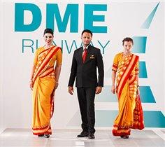 DME RUNWAY: в Домодедово прошел показ «высокой» моды