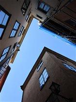 улочки Стокгольма, старый город
