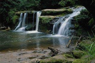 Прекрасные природные фонтаны