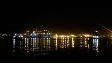 ночное черное море