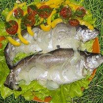 Дачный ужин...мммм, красота)))