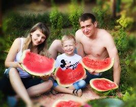 Наш отдых всей семьей на даче)))