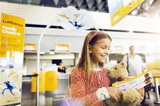 Приятные путешествия для юных пассажиров на рейсах Lufthansa