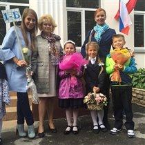 1 сентября: фото звездных детей. Ургант, Слуцкая, Волочкова, Барановская на линейке