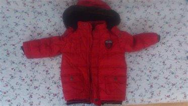 Куртка осенняя 1-1,5 года 500 рублей