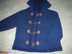 флисовое пальто, размер 104