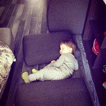 Где упал там и спал!