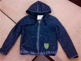 джинс куртка 122-128