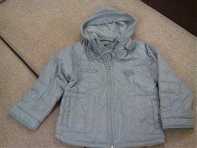 серая куртка 122-128