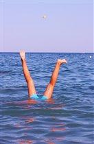 Занырну я вверх ногами, лишь бы лето было с нами!