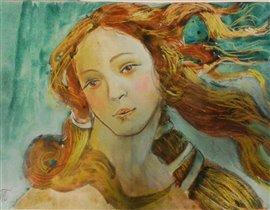 Венера рисунок моей младшей дочки Натали 11 лет