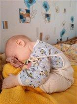 Вот так заснули!!!