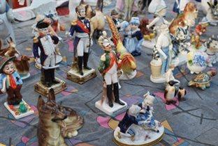 Зимний Городской блошиный рынок в Музее Москвы
