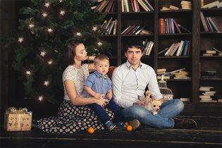 Нечастое совместное семейное фото, как получилось
