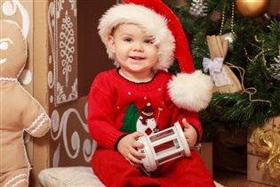 Маленький Санта))))