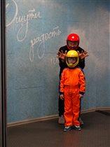Эмиль-будущий космонавт!