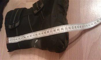 Сапожки SF (на шерсти) р. 41 (27 см) б/у Цена 1тр.