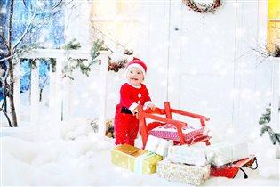 Счастливый Санта)))